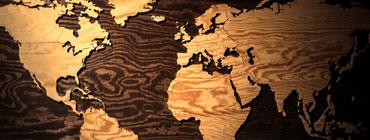 Drewno ciemne